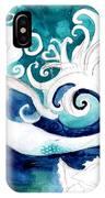 Aqua Mermaid IPhone Case