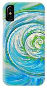 Aqua Seashell IPhone Case