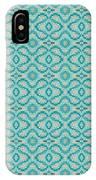 Aqua X Arrangement IPhone Case