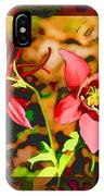 Aqualigia Floral 11x14 IPhone Case