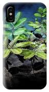 Aquatic Leaves IPhone Case