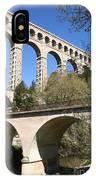 Aqueduct Roquefavour IPhone Case