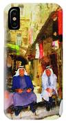 Arab Merchants Of Jerusleum IPhone Case