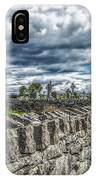 Aran Island Cemetary Ireland IPhone Case