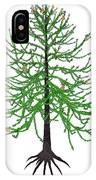 Araucaria Prehistoric Tree IPhone Case