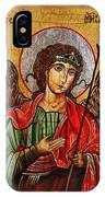 Archangel Michael Icon IPhone Case