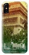 Arche De Triomphe Mood IPhone Case