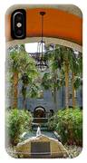Arched Courtyard IPhone Case