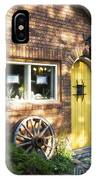 Arched Yellow Door IPhone Case