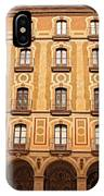 Arches Of Montserrat Monastery Catalonia Spain  IPhone Case