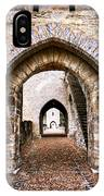 Arches Of Valentre Bridge In Cahors France IPhone Case