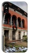 Architecture And Places In The Q.c. Series 01 The Twentieth Century Club IPhone Case