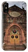 Architecture And Places In The Q.c. Series 01 Trinity Episcopal Church IPhone Case
