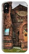 Architecture And Places In The Q.c. Series 03 Trinity Episcopal Church IPhone Case