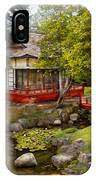 Architecture - Japan - Tranquil Moments  IPhone Case