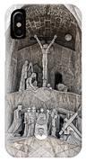 Architecture Of Sagrada Familia Barcelona IPhone Case