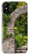 Archway To The Secret Garden IPhone Case