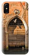 Archway With Bird In Venice IPhone Case