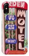 Arden Motel IPhone Case