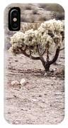 Arizona Desert Shrubs IPhone Case