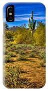 Arizona Landscape Iv IPhone Case