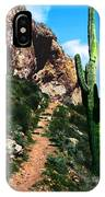 Arizona Saguaro Tonto National Monument IPhone Case