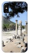 Arkadiane - Harbor Street Ephesus IPhone Case