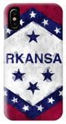 Arkansas Flag IPhone Case
