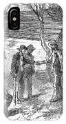 Arkansas Hot Springs, 1878 IPhone Case