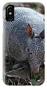 Armadillo Closeup IPhone Case