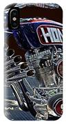 Armed Forces Tribute Bike IPhone Case