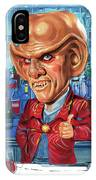 Armin Shimerman As Quark IPhone Case