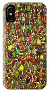 Army Of Beetles And Bugs IPhone Case