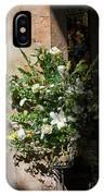 Arrangement Of White Flowers IPhone Case