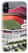 Arrowhead Stadium Kansas City Missouri IPhone Case