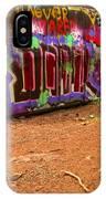 Art Along The Cheakamus River IPhone Case