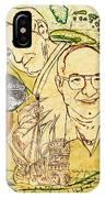 Art And Mel The Treasure Hunters IPhone Case