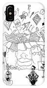 Art Attack IPhone Case