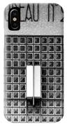 Art Deco Post Office 2 IPhone Case