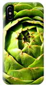 Art E. Choke - Artichokes By Diana Sainz IPhone Case