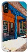 Art Gallery In Taos IPhone Case
