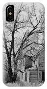 Art Homage Andrew Wyeth Abandoned 1930's Farm House Near Aberdeen South Dakota 1965-2012 IPhone Case