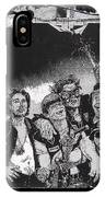 Art Homage James Montgomery Flagg Ww1 Poster Number 1 Midway Arizona State Fair Phoenix 1967  IPhone Case