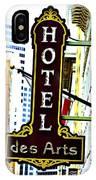 Art Hotel IPhone Case