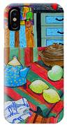 Art In The Kitchen IPhone Case