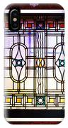 Art-nouveau Stained Glass Window IPhone Case