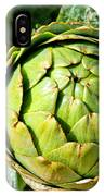 Artie Choke - Artichokes By Diana Sainz IPhone Case