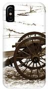 Artillery Positions - Toned IPhone Case