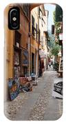Artisan Alley Portofino Italy IPhone Case