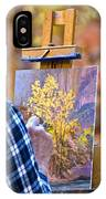 Artist At Work - Zion IPhone Case